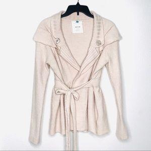 Sparrow Merino wool tie jacket